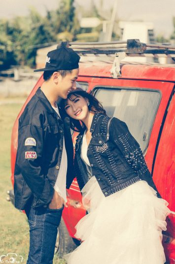Chụp hình cưới phim trường HCM