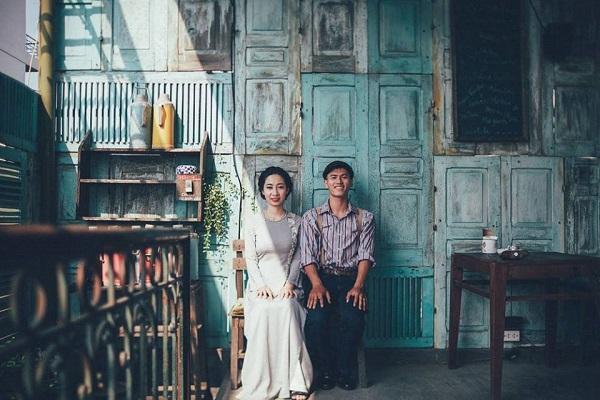 Chụp ảnh cưới ở Chinatown