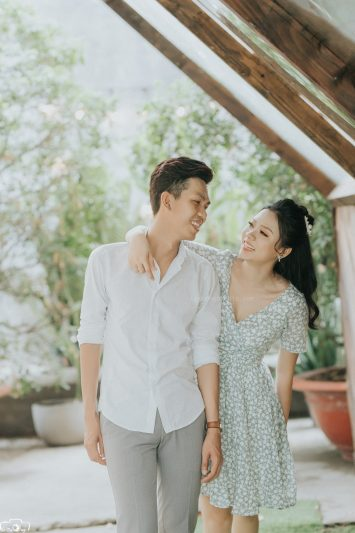 Chụp hình cưới phim trường Endee