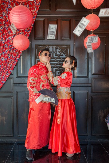 Chụp hình cưới phim trường Lamour