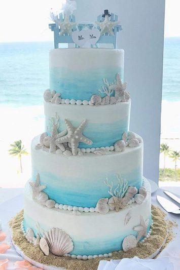 Bánh kem cưới ngọt ngào cho lễ cưới