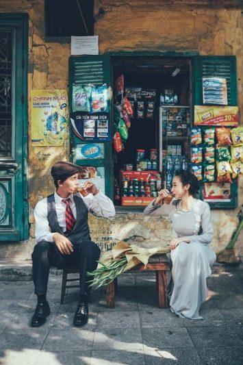 Chụp ảnh cưới Chinatown
