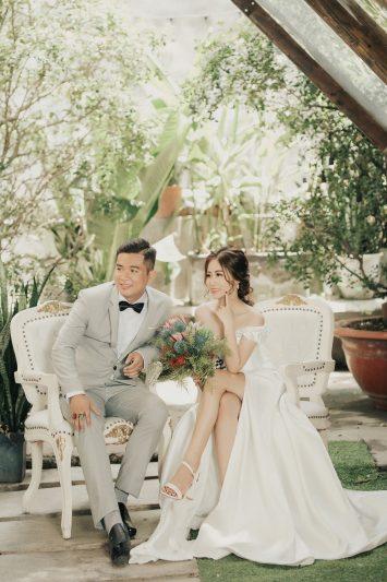 Chụp hình cưới đẹp tại phim trường Endee Garden