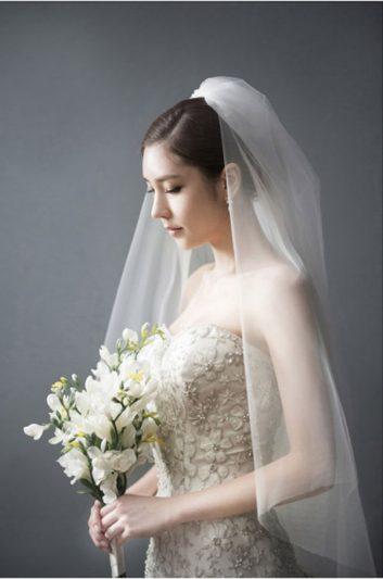 Khăn voan cô dâu ngắn